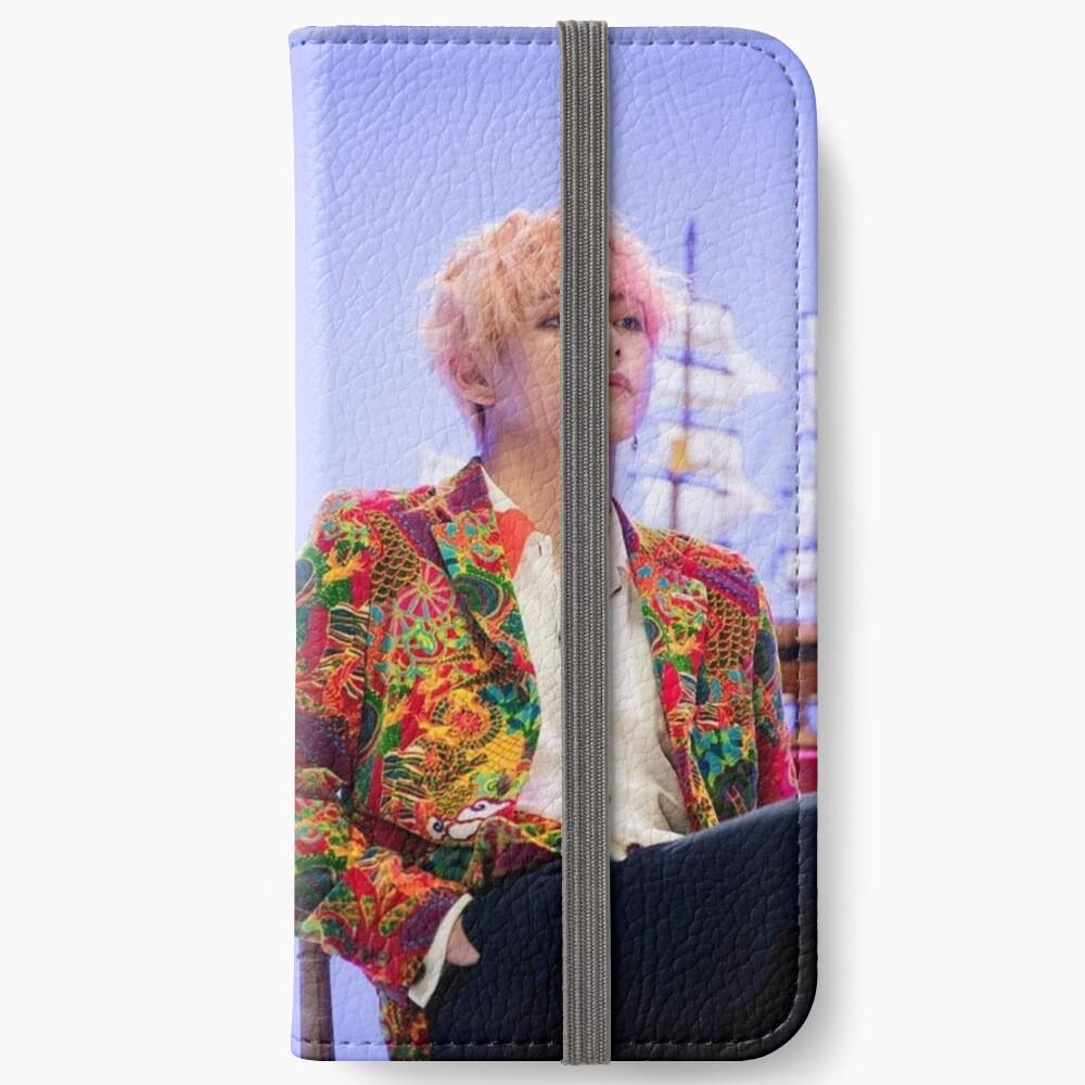 Taehyung BTS iPhone Flip-Case