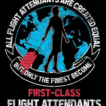 Flight attendant equality by GeschenkIdee