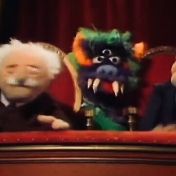 Statler, Waldorf, and a Monster by Jenniferkate72