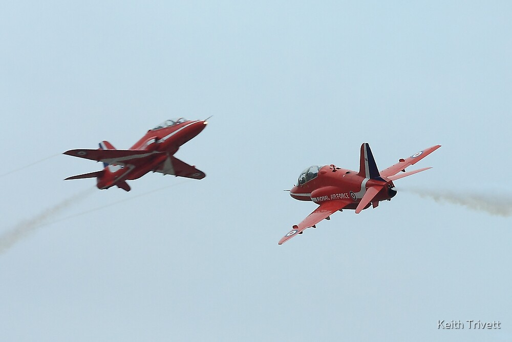 The reds synchro pair by Keith Trivett