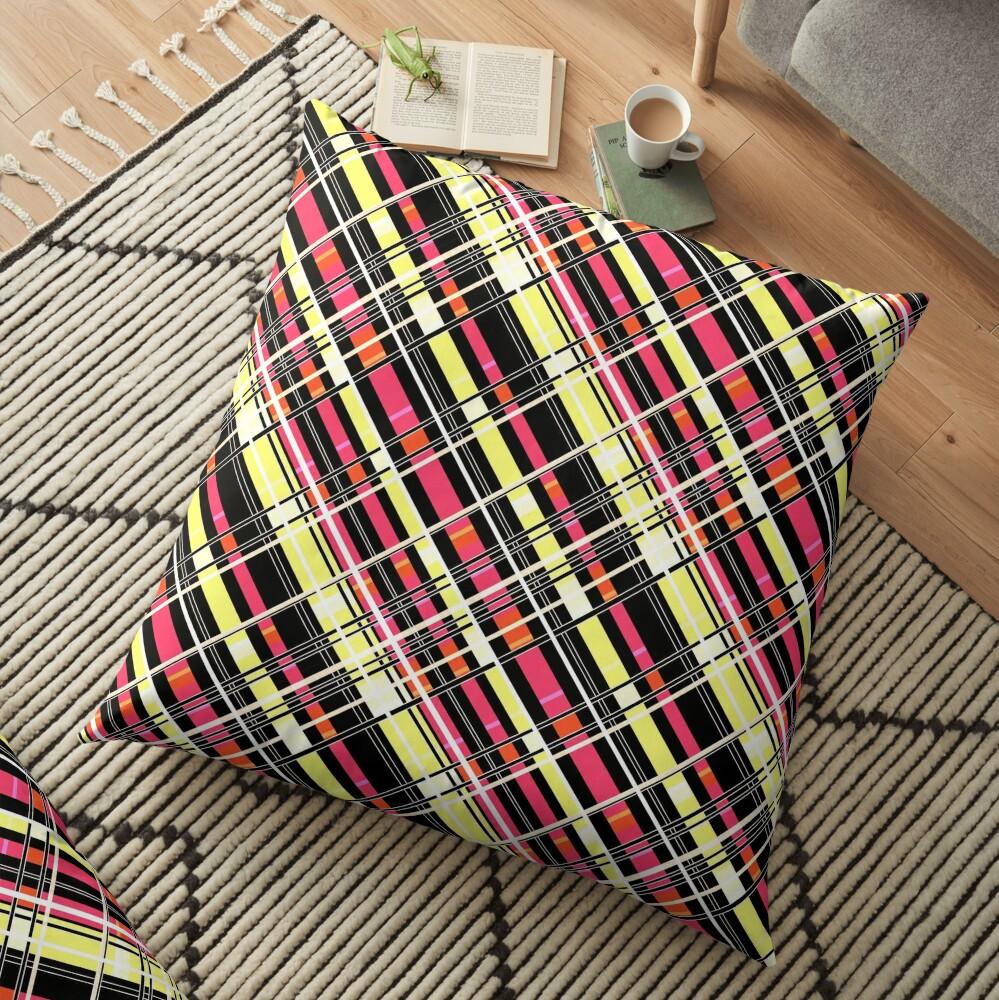 Striped pattern  Floor Pillow