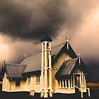 Old church at Tarraville by Peter Krause