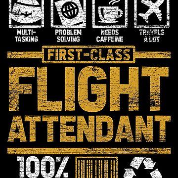 flight attendant by GeschenkIdee
