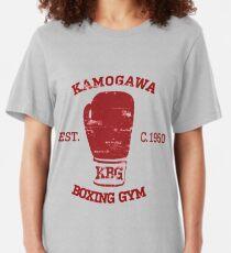 Hajime no Ippo KBG Design Slim Fit T-Shirt