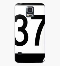Missouri Route 37 | United States Highway Shield Sign Sticker Case/Skin for Samsung Galaxy