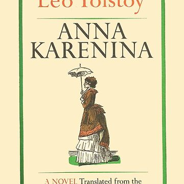Anna Karenina Leo Tolstoy Front Cover by buythebook86