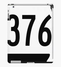 Missouri Route 376 | United States Highway Shield Sign Sticker iPad Case/Skin