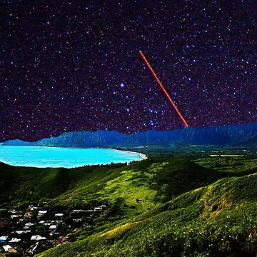 Oahu, Hawaii with Stars by devinswy