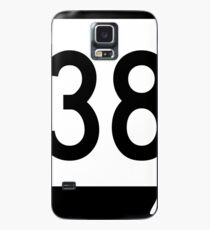 Missouri Route 38 | United States Highway Shield Sign Sticker Case/Skin for Samsung Galaxy