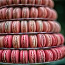 Pink Macaroons by JohnKarmouche