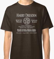 Camiseta clásica Harry Dresden - Detective mago