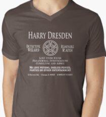 Harry Dresden - Wizard Detective Men's V-Neck T-Shirt
