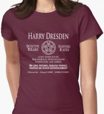 Harry Dresden - Wizard Detective Womens Fitted T-Shirt