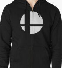 Super Smash Bros. Ultimate Logo Zipped Hoodie