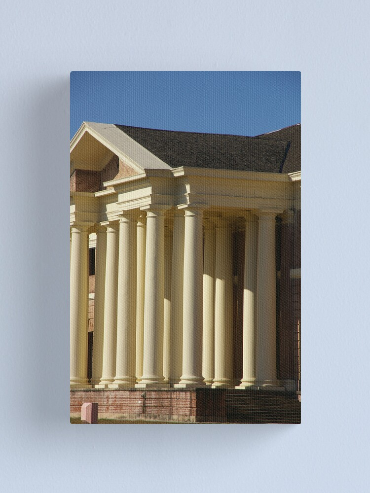 Alternate view of So These Are The Pillars Of Society? Canvas Print