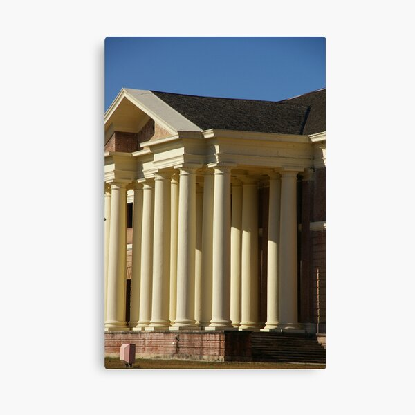 So These Are The Pillars Of Society? Canvas Print