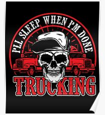 Trucking Poster