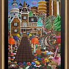 Gingerbread house by David Knight