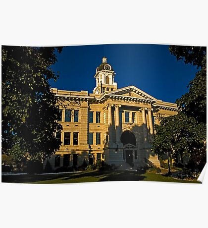 Missoula County Court House Poster