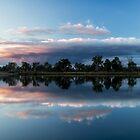 River Reflections by Trudi Skinn