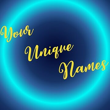 Your Unique Names Cover by Hillse