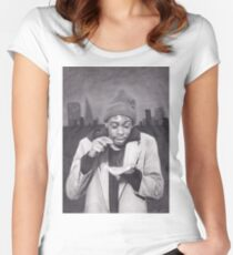 Tyrone Biggums (Dave Chappelle) in the Tenderloin Women's Fitted Scoop T-Shirt