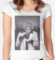 Tyrone Biggums (Dave Chappelle) in the Tenderloin Women's Fitted Scoop T-Shirt