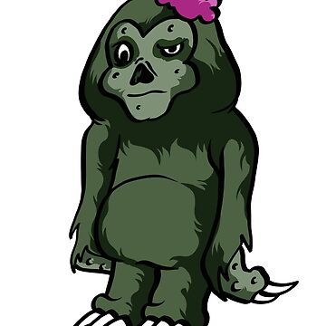 sloth zombie by 8fiveone4