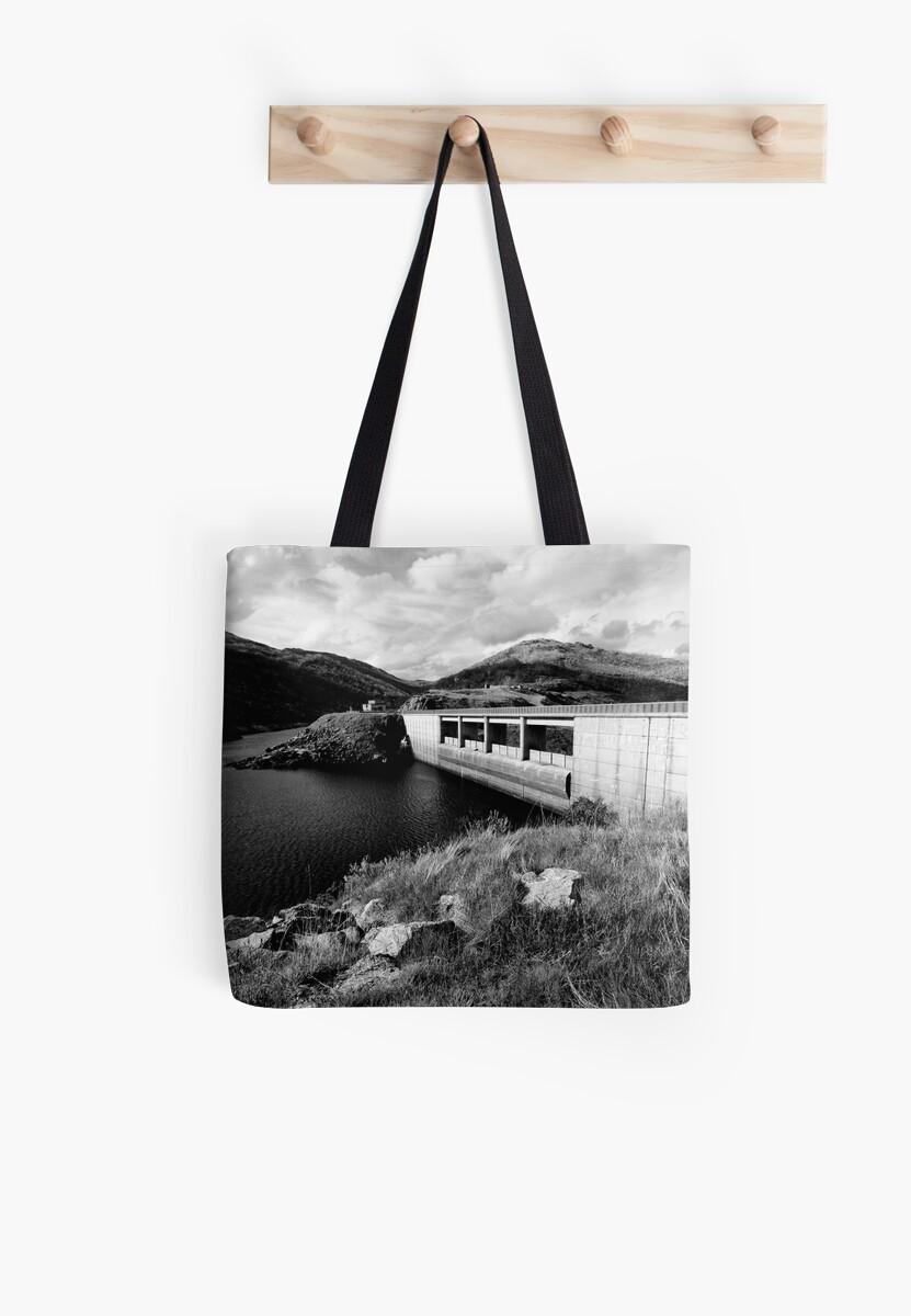 Guthega Dam by David Sundstrom