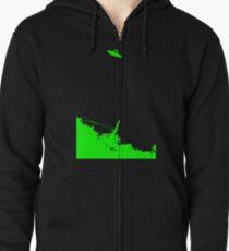 Alien Hunter Gift - NJ UFO Sighting Zipped Hoodie