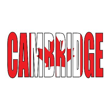 Cambridge Canada by Obercostyle