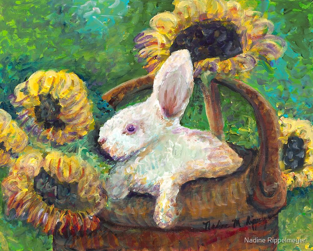 Sunflower Basket Surprise by Nadine Rippelmeyer