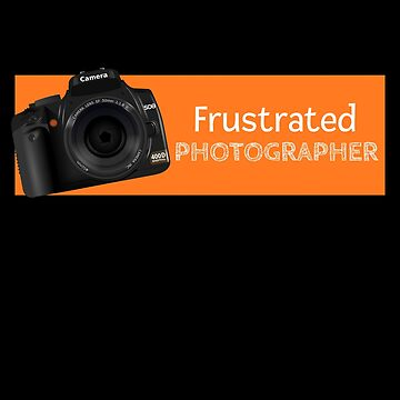Frustrated Photographer by DogBoo