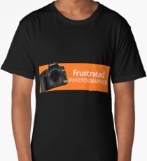 Frustrated Photographer Long T-Shirt