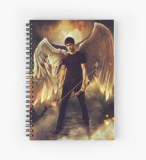 """Alexander """"angel"""" Lightwood Spiral Notebook"""