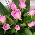 Delightful Pink Rosebud  Bouquet - Florist by EdsMum