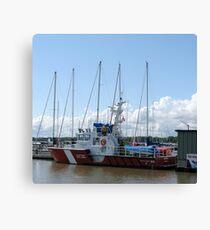 Gimli Coast Guard Vessel Leinwanddruck