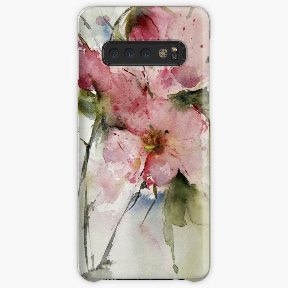 watercolor flowers from Arcen Cases & Skins for Samsung Galaxy