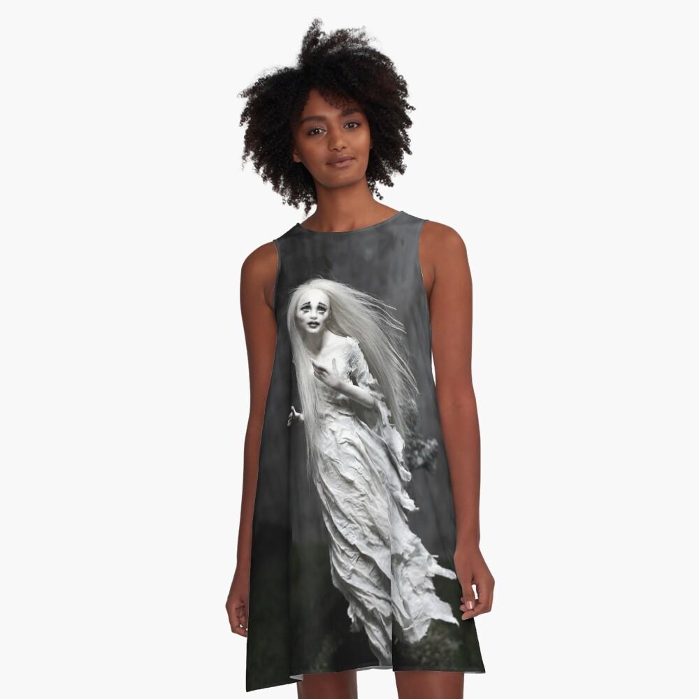 Geisterstunde A-Linien Kleid