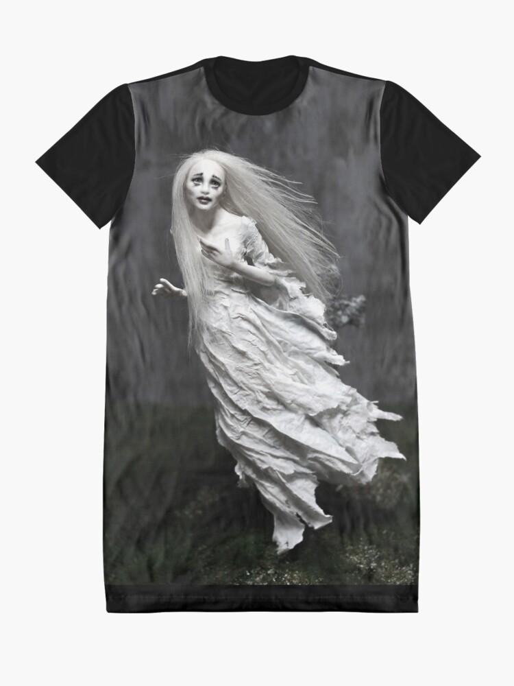 Alternative Ansicht von Geisterstunde T-Shirt Kleid