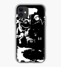 Fallout 3, Fallout New Vegas, Fallout 4 - T45 Power Armour Silhouette iPhone Case