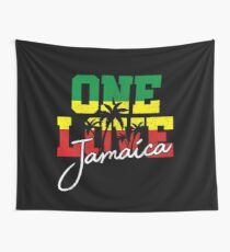 One Love - Jamaica Wall Tapestry