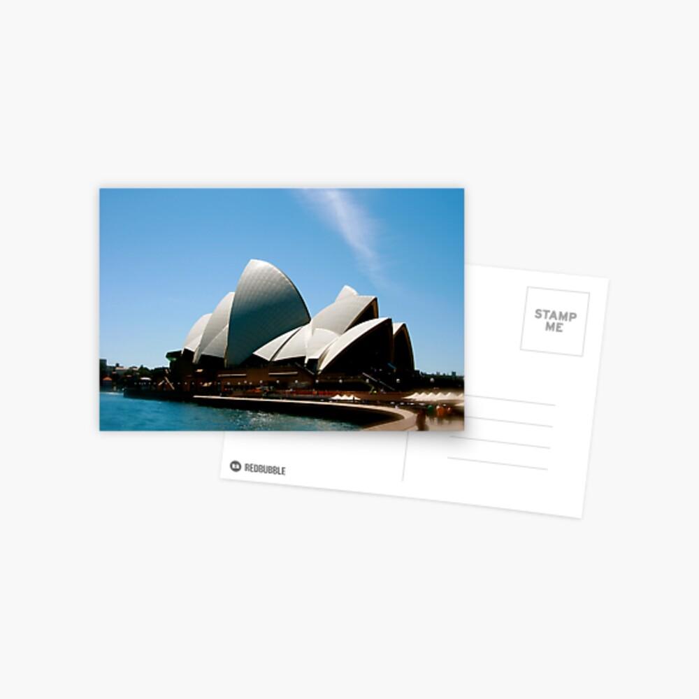 Sydney Opera House. Postcard