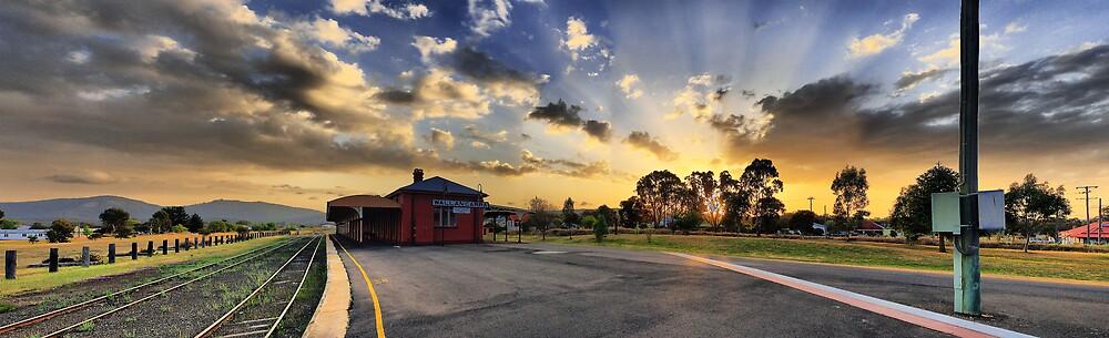 Wallangarra Station by David James