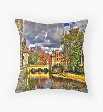 Pretty Bridge  Throw Pillow