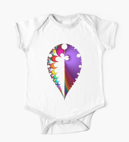 20150123-003-3500 Black Inverted, Mandelbrot Kids Clothes
