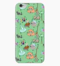 Witch Halloween Pattern iPhone Case