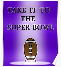 Football Team Super Bowl T-Shirt Poster