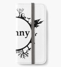 Halloween Name Sunny iPhone Wallet/Case/Skin