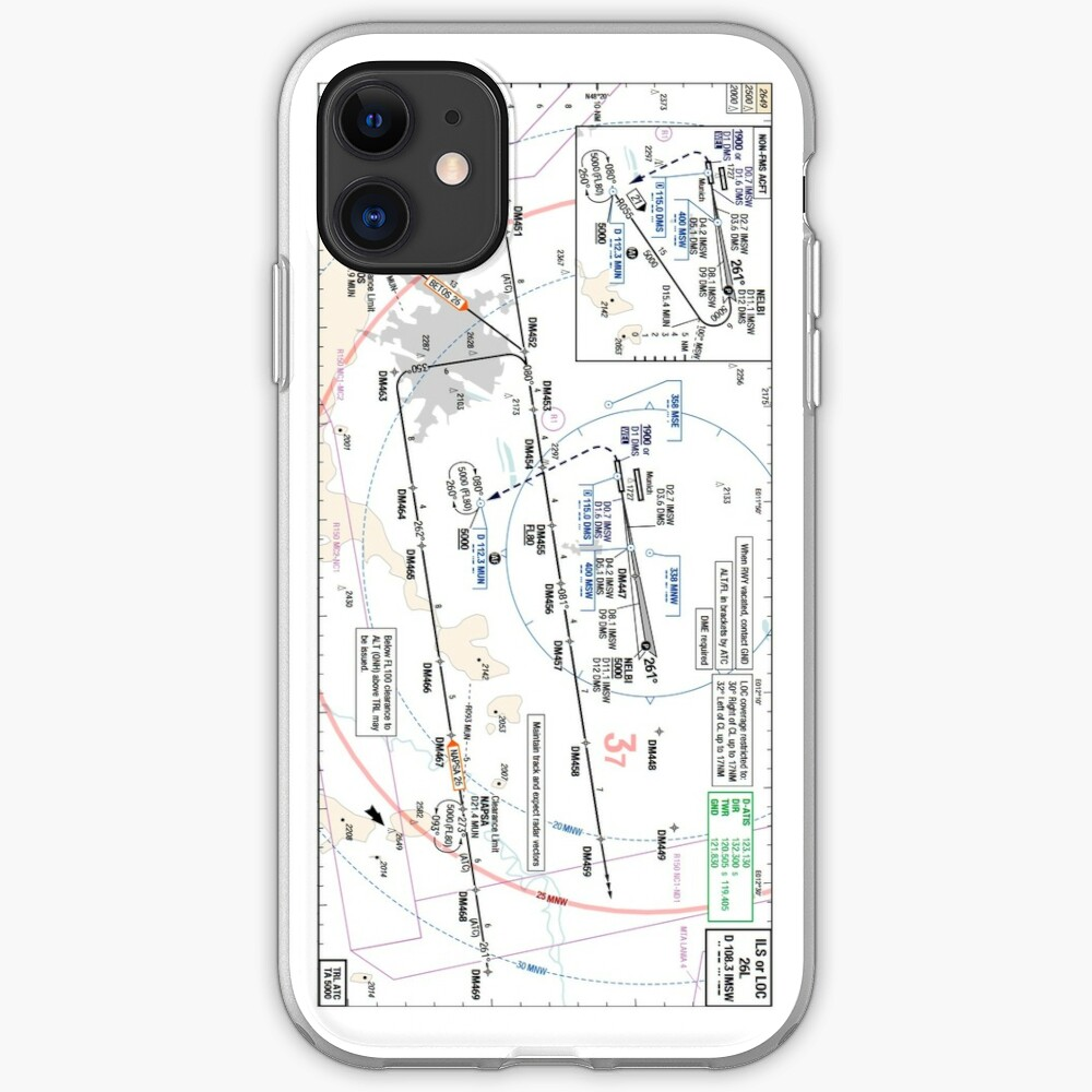 Munchen Eddm Ils 26l Approach Plate Iphone Case Cover By
